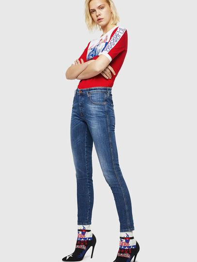Diesel - Babhila 069FZ, Medium blue - Jeans - Image 5