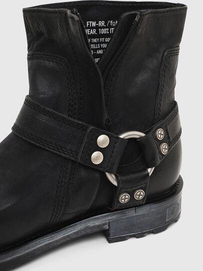 Diesel - D-THROUPER ABZ, Black - Boots - Image 5