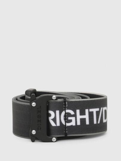 Diesel - B-TAPE, Black/White - Belts - Image 1