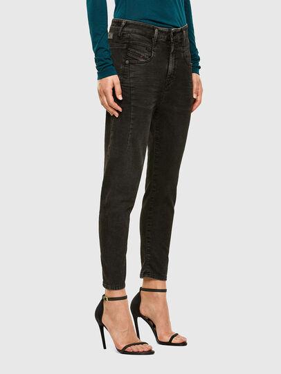 Diesel - FAYZA JoggJeans® 009HM, Black/Dark grey - Jeans - Image 5