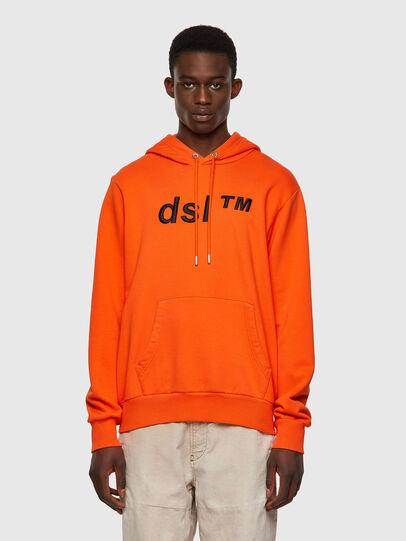 Diesel - S-GIRK-HOOD-B4, Orange - Sweaters - Image 1