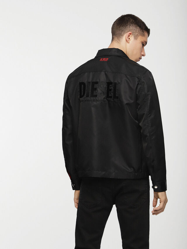 Diesel - DVL-JPLAZA-CAPSULE, Black - Jackets - Image 2
