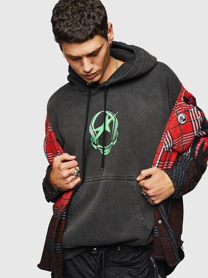 Diesel - S-ALBY-ACID, Black - Sweaters - Image 5