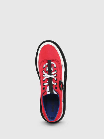 Diesel - H-SCIROCCO LOW, Fire Red - Sneakers - Image 4