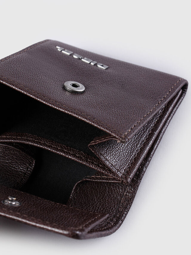 Diesel - KOPPER, Dark Brown - Small Wallets - Image 4