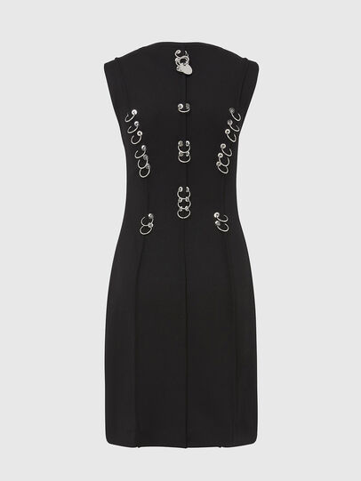Diesel - D-PHILO, Black - Dresses - Image 2