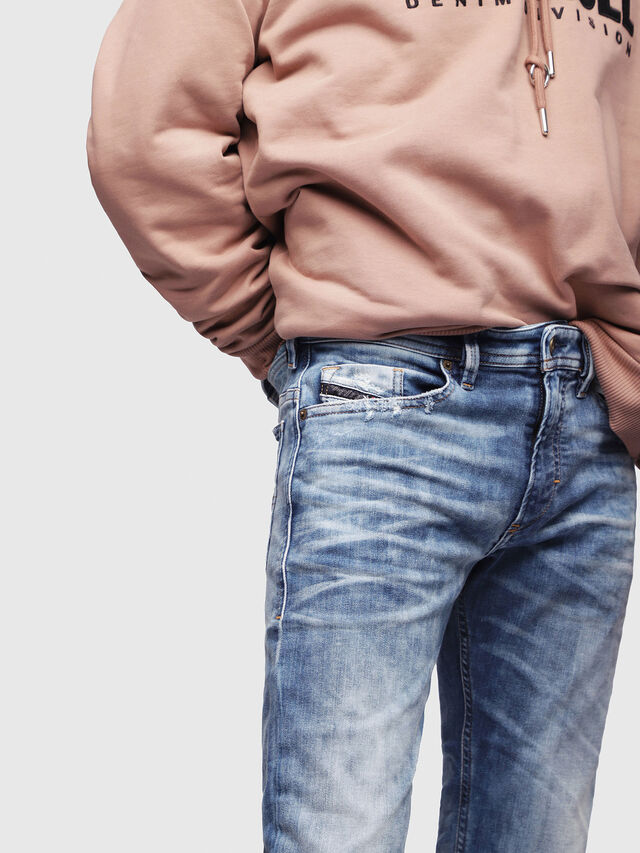 Diesel - Thommer JoggJeans 087AC, Medium blue - Jeans - Image 3