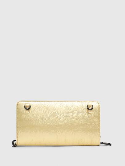 Diesel - GRANATO LCLS, Gold - Zip-Round Wallets - Image 2