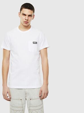 T-WORKY-SLITS, White - T-Shirts