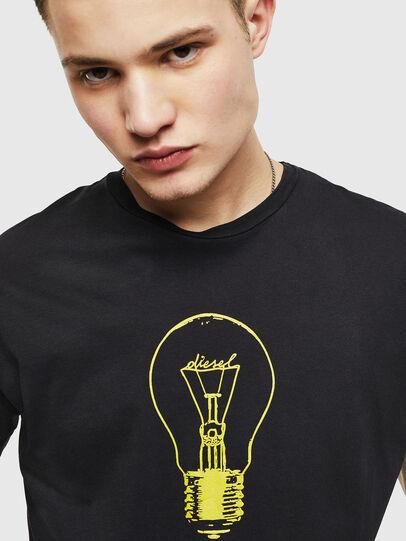 Diesel - T-DIEGO-S9, Black - T-Shirts - Image 5