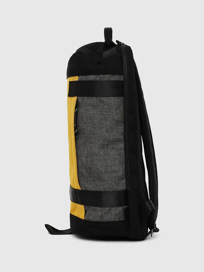 Diesel - PIEVE, Black/Yellow - Backpacks - Image 3
