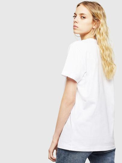 Diesel - T-DIEGO-DIV, White - T-Shirts - Image 4