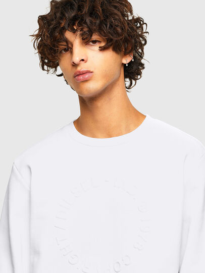 Diesel - S-GIRK-A70, White - Sweaters - Image 3