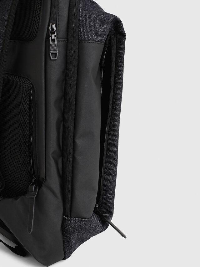Diesel - D-SUBTORYAL BACK, Blue Jeans - Backpacks - Image 5