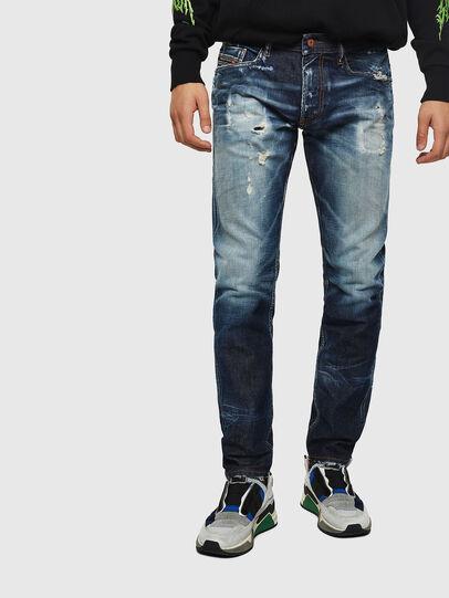 Diesel - Thommer 0092I, Dark Blue - Jeans - Image 1