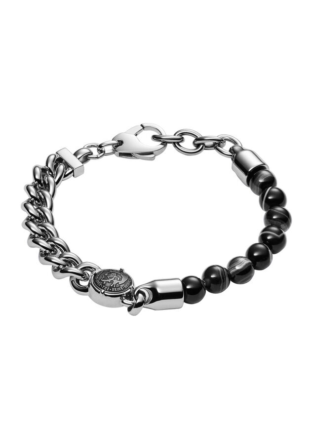 Diesel BRACELET DX0994, Silver - Bracelets - Image 1