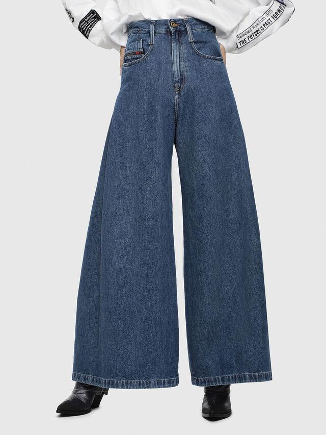 Diesel - D-Izzier 080AQ, Medium blue - Jeans - Image 1
