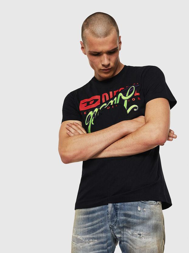 T-DIEGO-BX1, Black - T-Shirts