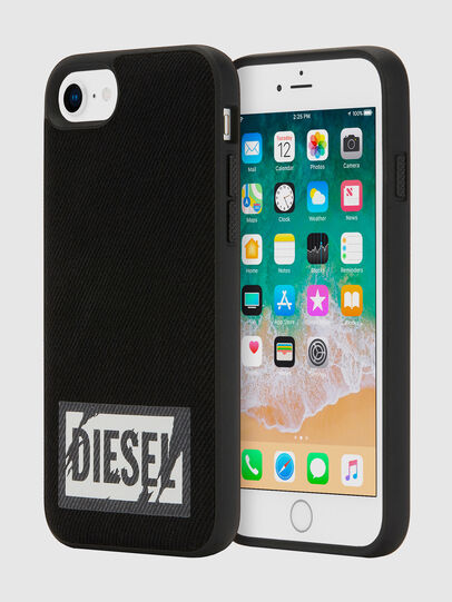 Diesel - BLACK DENIM IPHONE 8/7/6S/6 CASE,  - Cases - Image 1