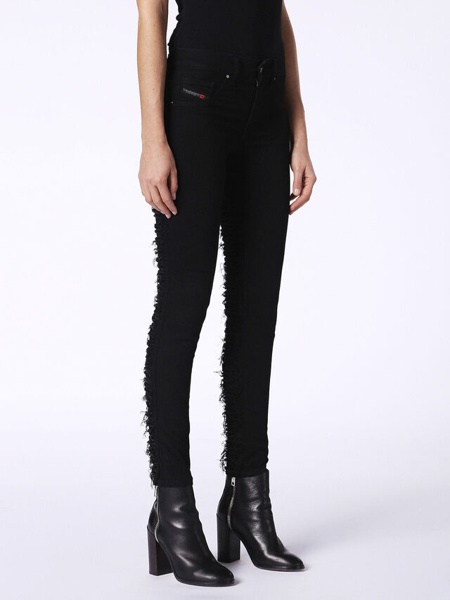 DHARY-DT 0686M, Black Jeans