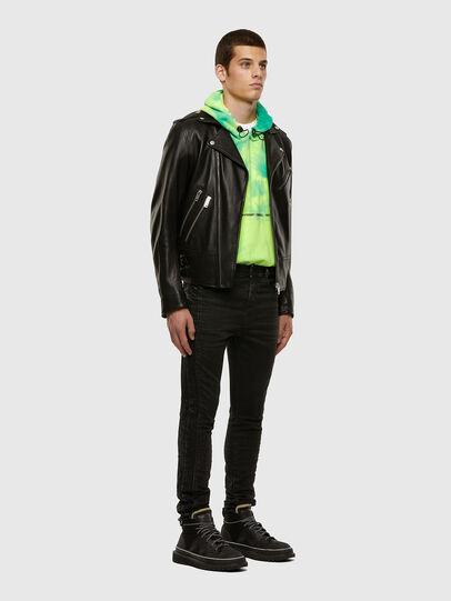 Diesel - D-REEFT JoggJeans® 009FY, Black/Dark grey - Jeans - Image 7
