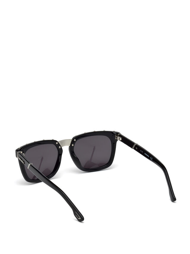 Diesel DL0212, Black - Eyewear - Image 2