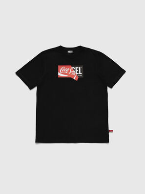 CC-T-JUST-COLA, Black - T-Shirts