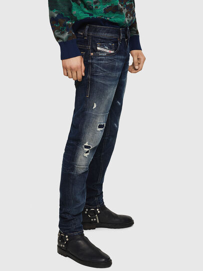 Diesel - Thommer 0890W, Dark Blue - Jeans - Image 5