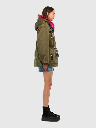 Diesel - G-URIBE, Military Green - Jackets - Image 8