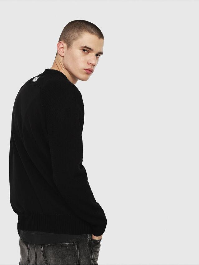 Diesel - K-MELT, Black - Knitwear - Image 2