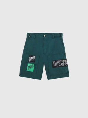 P-DUGA-SHO, Dark Green - Shorts