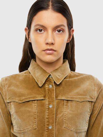 Diesel - C-SANDY-A, Light Brown - Shirts - Image 3
