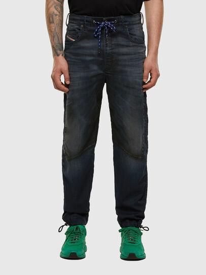 Diesel - D-Skint JoggJeans® 069PE, Dark Blue - Jeans - Image 1
