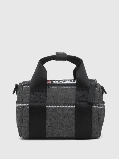 Diesel - MINI DUFFLE, Dark grey - Bags - Image 1