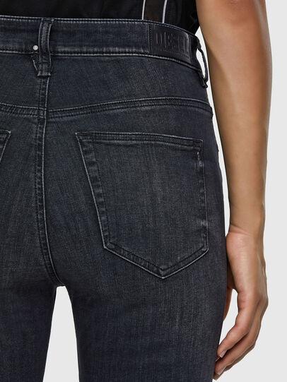Diesel - Slandy High 069RL, Black/Dark grey - Jeans - Image 3