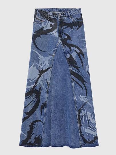 Diesel - DE-SPIZ, Light Blue - Skirts - Image 1