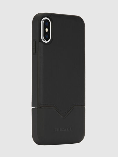 Diesel - CREDIT CARD IPHONE X CASE, Black - Cases - Image 3