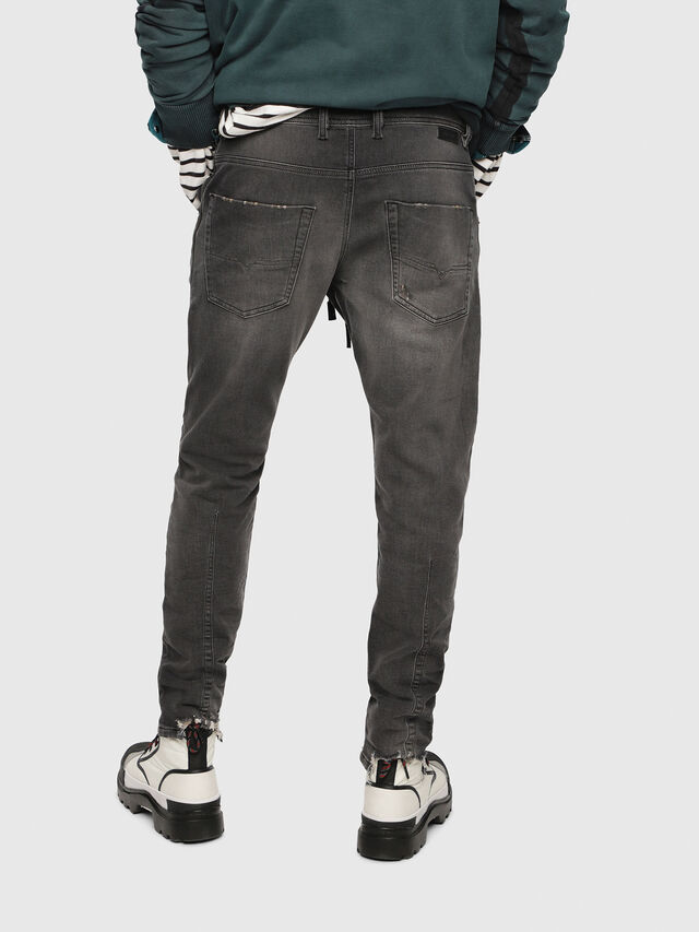 Diesel - Krooley JoggJeans 069EM, Black/Dark grey - Jeans - Image 2
