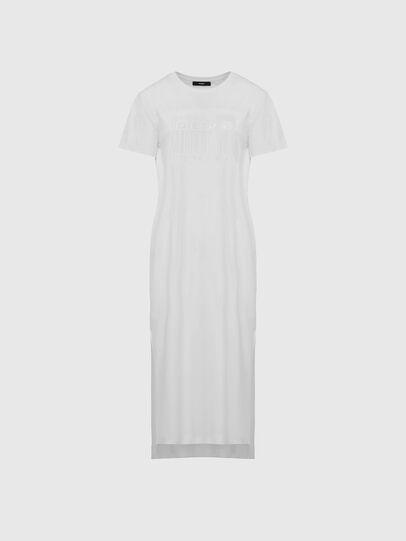 Diesel - D-FELIX-LONG-E1, White - Dresses - Image 1