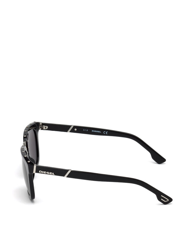 Diesel - DL0212, Black - Sunglasses - Image 3