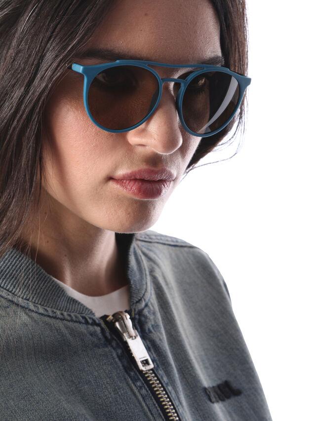 Diesel DM0195, Blue - Eyewear - Image 6