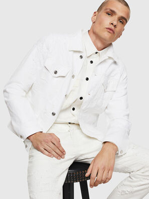 NHILL, White - Denim Jackets