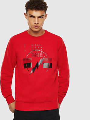 S-GIRK-J2, Red - Sweaters