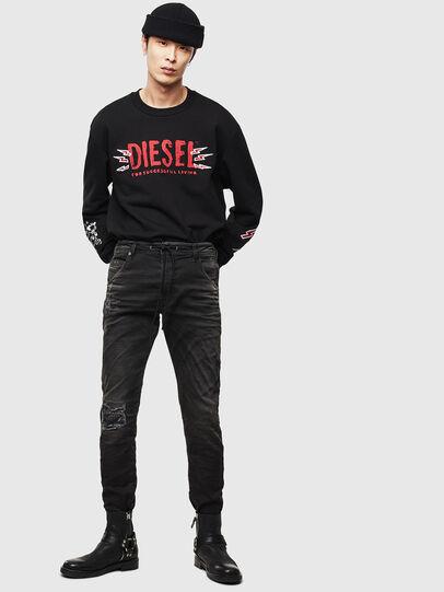 Diesel - CL-SNOR-LITMA, Black - Sweaters - Image 7
