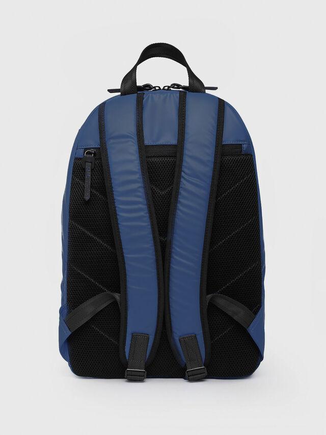 Diesel - F-BOLD BACK, Blue/White - Backpacks - Image 2