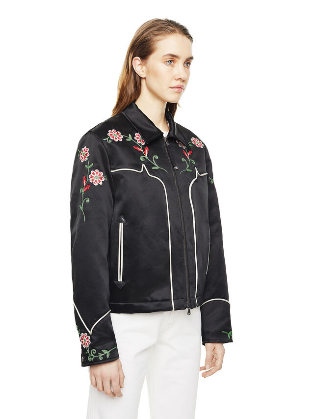 Diesel - WADOW, Black - Jackets - Image 6