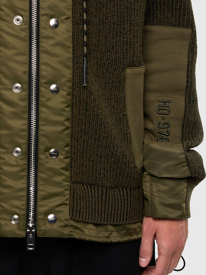 Diesel - K-THOMPSON, Olive Green - Jackets - Image 4
