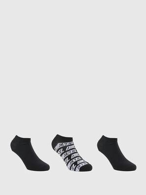 SKM-GOST-THREEPACK, Black - Socks