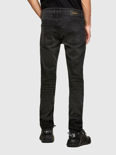 Diesel - Sleenker C69EQ, Dark Blue - Jeans - Image 2