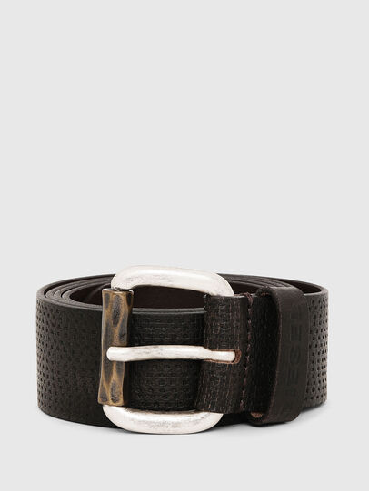Diesel - B-ROLLY, Dark Brown - Belts - Image 1